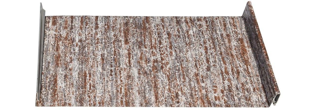 Standing Seam Metal Roofing Panel in Reclaimed Metal Rust®